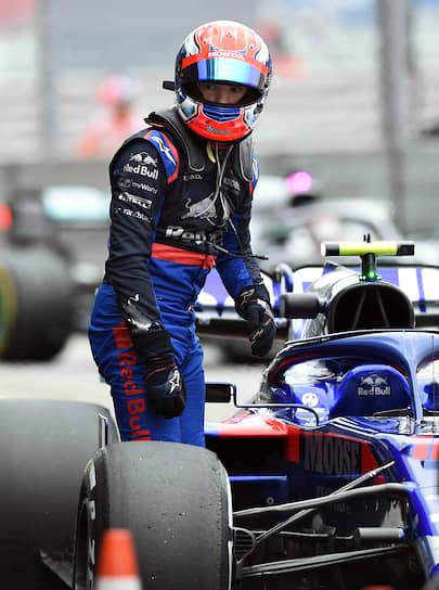 Пилот команды Toro Rosso Пьер Гасли