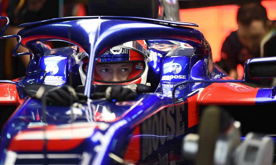 Пилот команды Toro Rosso Даниил Квят (на фото) занял 12-е место. В квалификации он участия не принимал из-за проблем с мотором