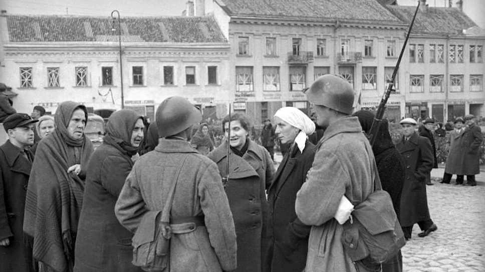 Занятый Красной армией Вильно (на фото) был передан Литве во исполнение секретного приложения к советско-германскому пакту