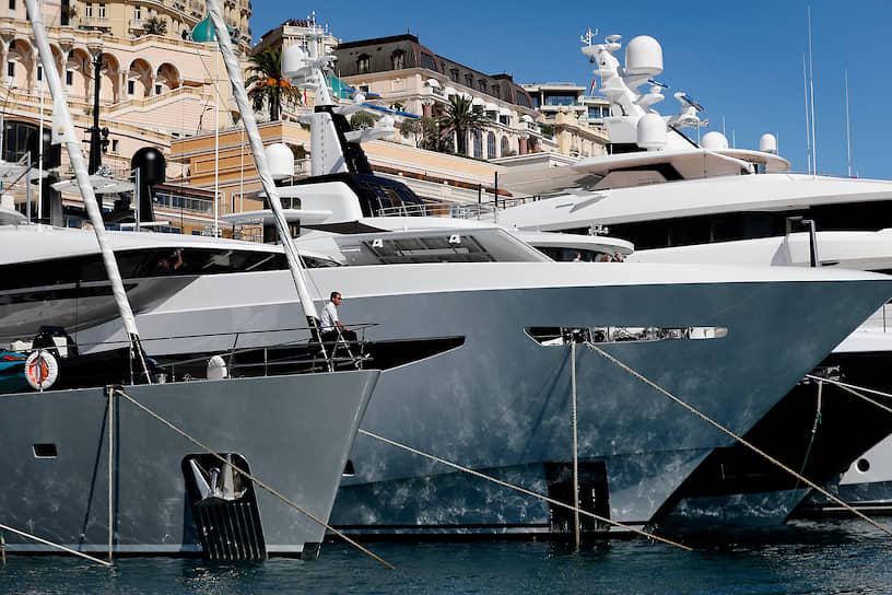 Средняя стоимость показанных в Монако яхт составила €27 млн, средняя длина — 50 м
