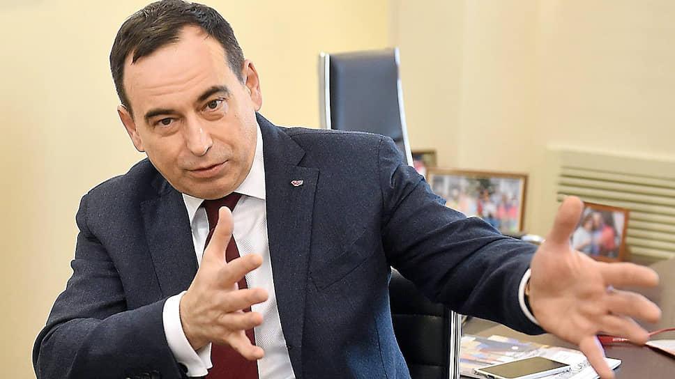 Мажоритарный акционер концерна «Россиум» Роман Авдеев