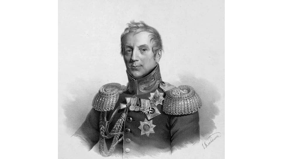 Герой войны 1812 года генерал от инфантерии граф Коновницын, жестко отстаивал интересы кадетов в непрекращающейся битве с корпусными экономами