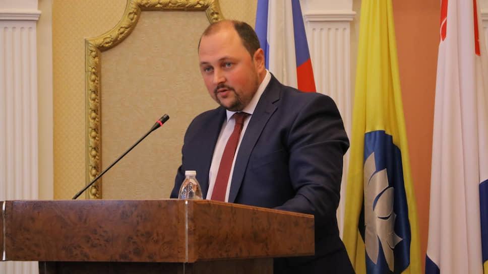 Врио главы Элисты Дмитрий Трапезников