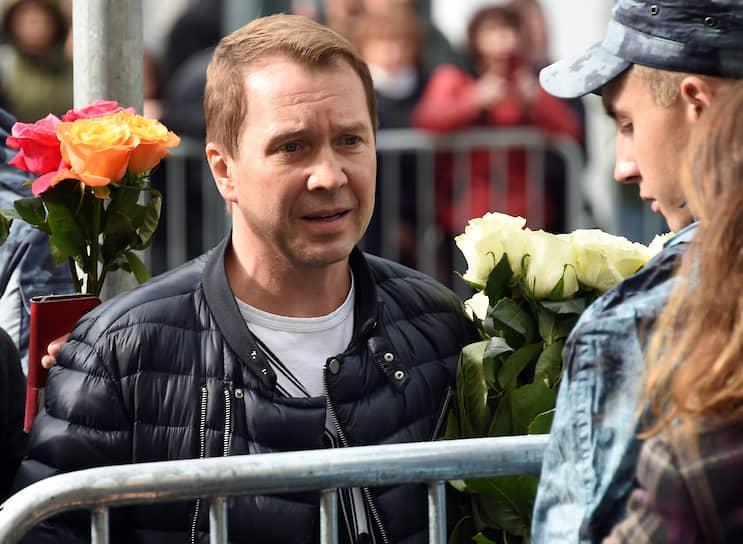 Художественный руководитель Государственного театра наций Евгений Миронов