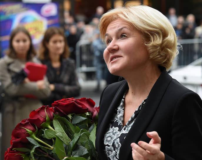 Заместитель председателя правительства России Ольга Голодец перед началом церемонии