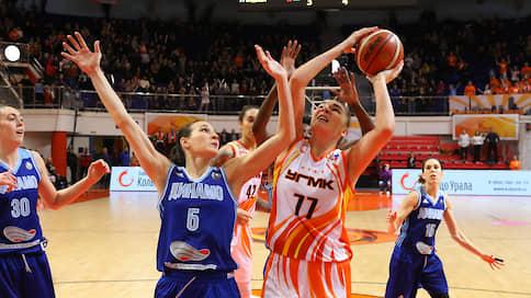 Сильнейшие начали с разгромов  / Стартовал сезон женской баскетбольной Премьер-лиги