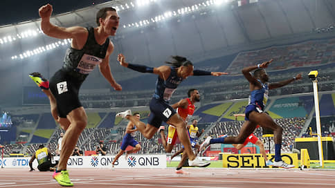 «Четвертая медаль с четырех чемпионатов мира подряд очень радует»  / Сергей Шубенков завоевал серебро в забеге на 110 м с барьерами
