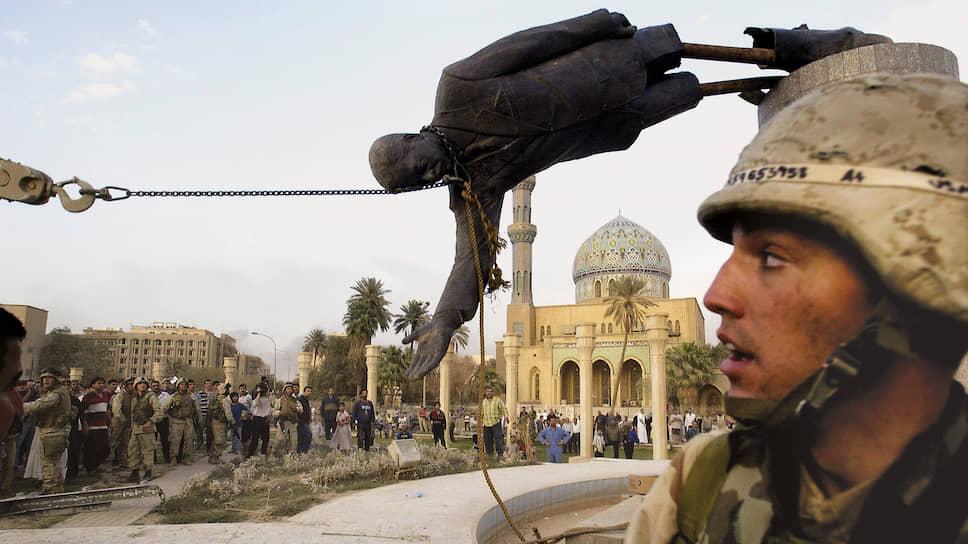 Российские дипломаты предвидели все последствия войны в Ираке, но остановить внешнее вмешательство в дела этой страны не смогли (Багдад, апрель 2003 года)