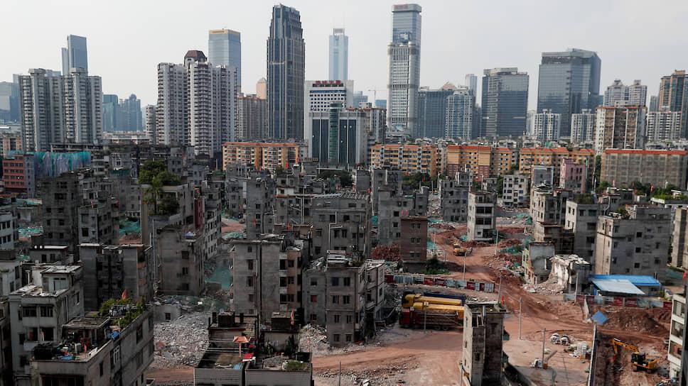 Район Сяньцунь, который находится в самом центре города Гуанчжоу