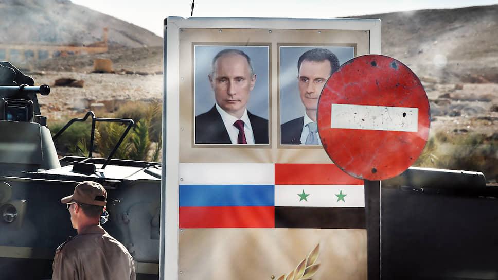 В случае потери Сирии об амбициях России на Ближнем Востоке можно было бы забыть навсегда (Пальмира, 2016 год)