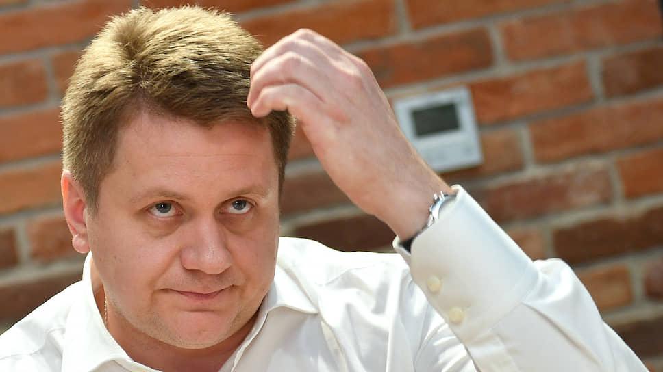 Руководитель Департамента капитального ремонта города Москвы Алексей Елисеев