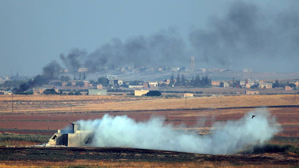 Как началась турецкая операция  в Сирии