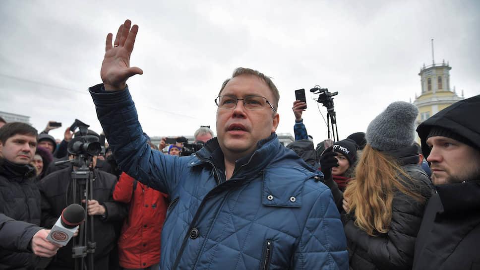Мэр Кемерова Илья Середюк