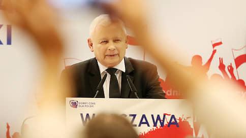 Польша остается консервативной // Партия «Право и справедливость» готовится к победе на выборах