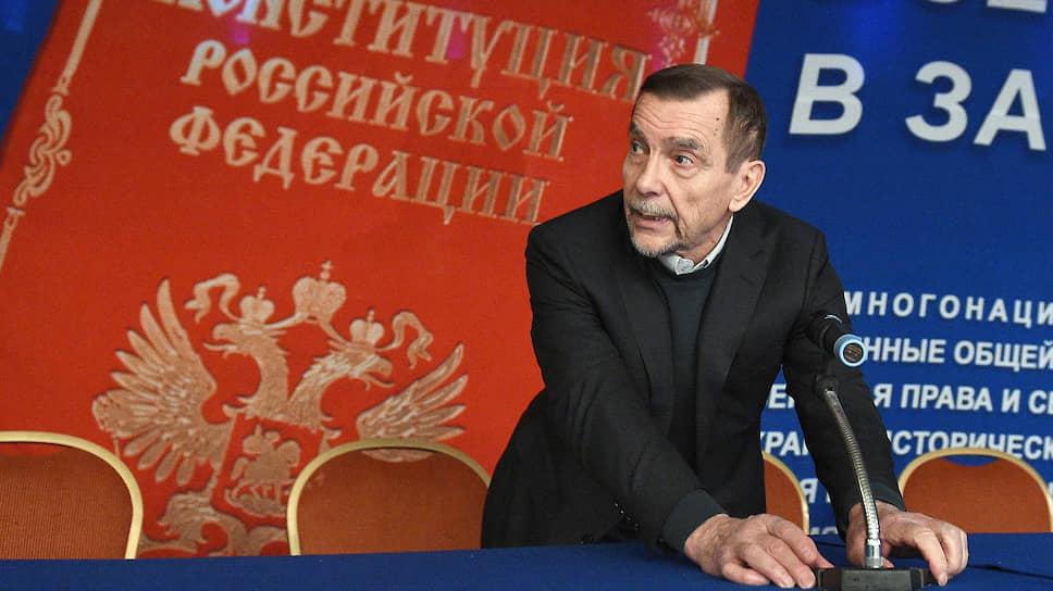 Руководитель правозащитной организации «За права человека» Лев Пономарев