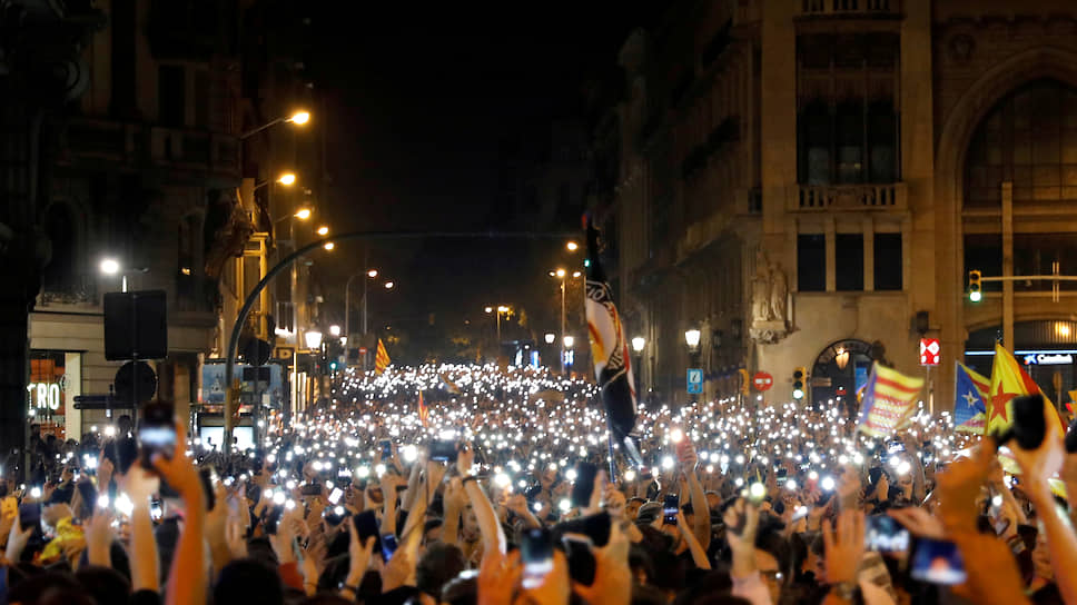 Могут ли возобновиться акции протеста в Каталонии