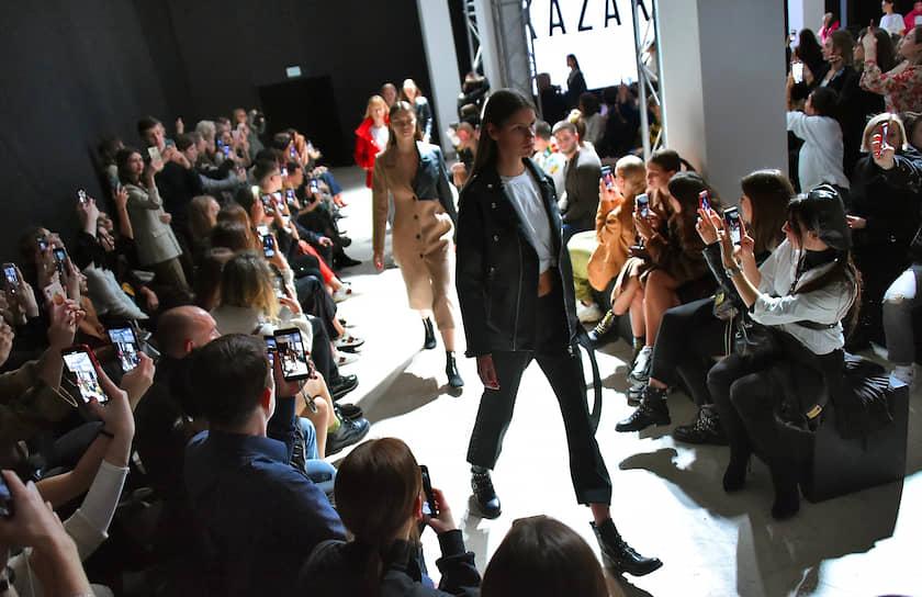 Показ коллекции бренда Kazaki