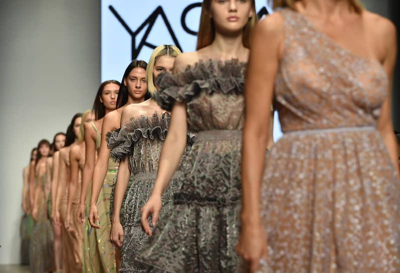 Показ коллекции бренда YASYA MINOCHKINA