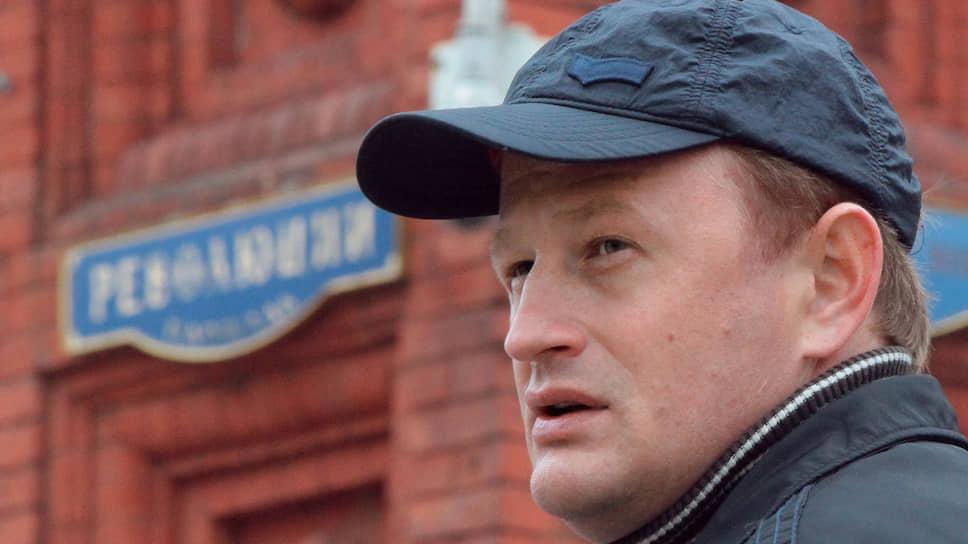Бывший сотрудник МВД Алексей Дымовский