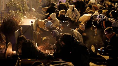 Протесты на полмиллиона  / Всеобщая забастовка в Барселоне вылилась в масштабный митинг и беспорядки