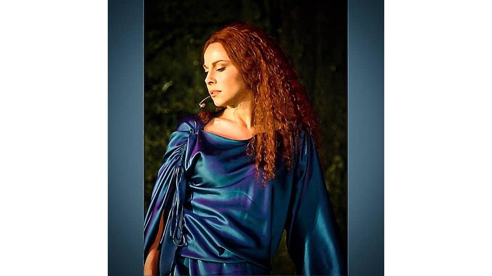 Екатерина Гусева в роли Марии Магдалины в рок-опере «Иисус Христос—суперзвезда»