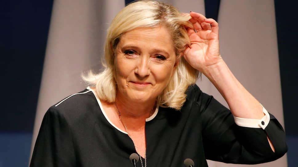 Глава «Национального объединения» (RN) Марин Ле Пен