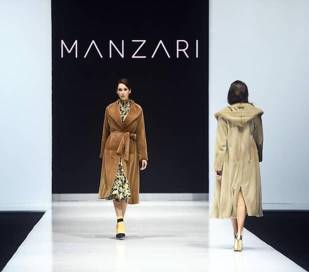 Показ коллекции бренда Manzari