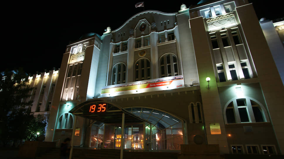 Здание управления Куйбышевской железной дороги
