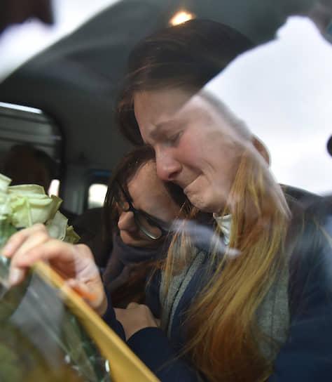 26 октября, Москва. Россиянка Мария Бутина вернулась из  США, где она отбывала тюремный срок за лоббирование интересов России без регистрации иностранным агентом