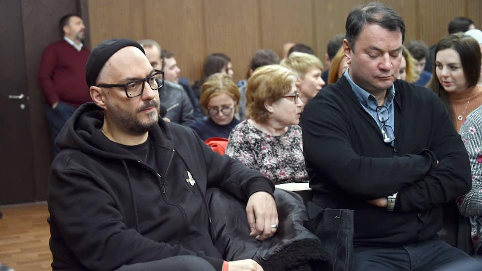 Режиссер Кирилл Серебренников (слева) и бывший гендиректор «Седьмой студии» Юрий Итин