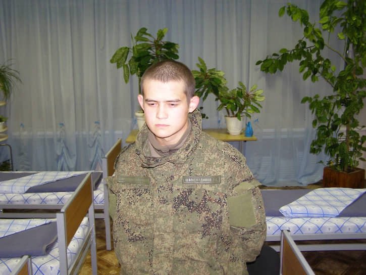 Солдат Рамиль Шамсутдинов