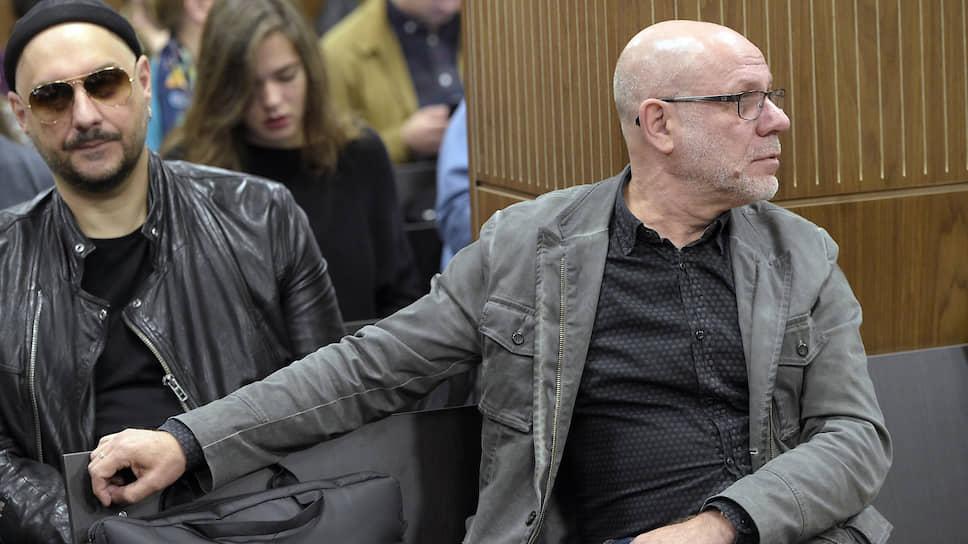 Режиссер Кирилл Серебренников (слева) и экс-директор «Гоголь-центра» Алексей Малобродский