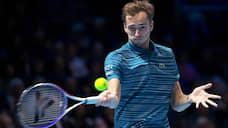 Лондонский сглаз  / Даниил Медведев на итоговом турнире ATP стартовал с поражения