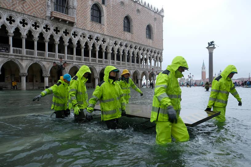 Городская администрация заявляет, что готова объявить чрезвычайное положение
