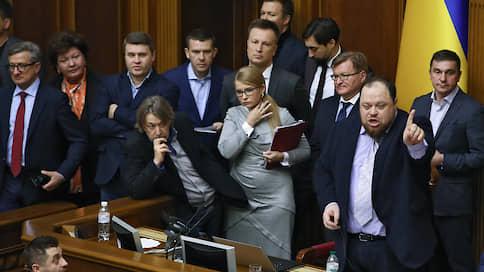 «Россиянам даже войну не нужно вести! Мы продаем землю агрессору!» / Украинская оппозиция не смогла помешать принятию в первом чтении земельной реформы