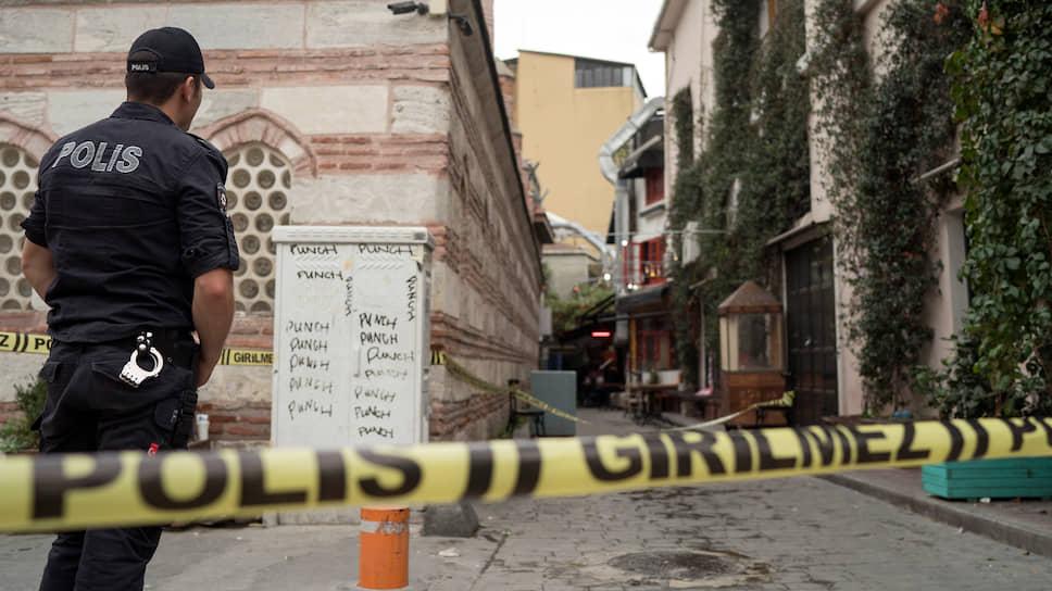 Улица, на которой было обнаружено тело Джеймса Ле Мезюрье