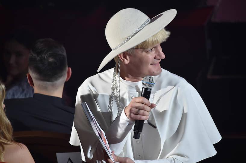 Шоумен Александр Гудков во время церемонии вручения премии «Женщина года 2019» по версии журнала Glamour