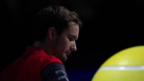 Даниил Медведев устал от ракетки  / Он может не приехать на финальную часть Кубка Дэвиса