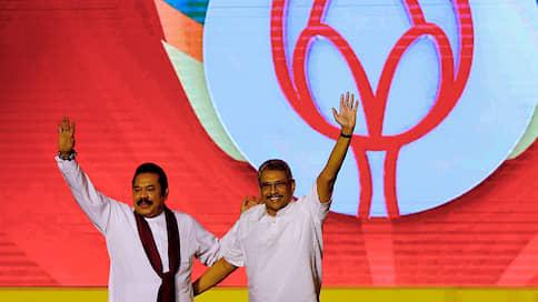 Шри-Ланка проголосовала за «сильную руку»  / На президентских выборах победил брат бывшего президента