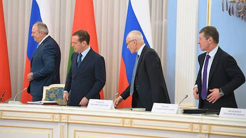 Россия и Белоруссия застыли над «дорожными картами»  / Странам пока не удалось решить все вопросы экономической интеграции