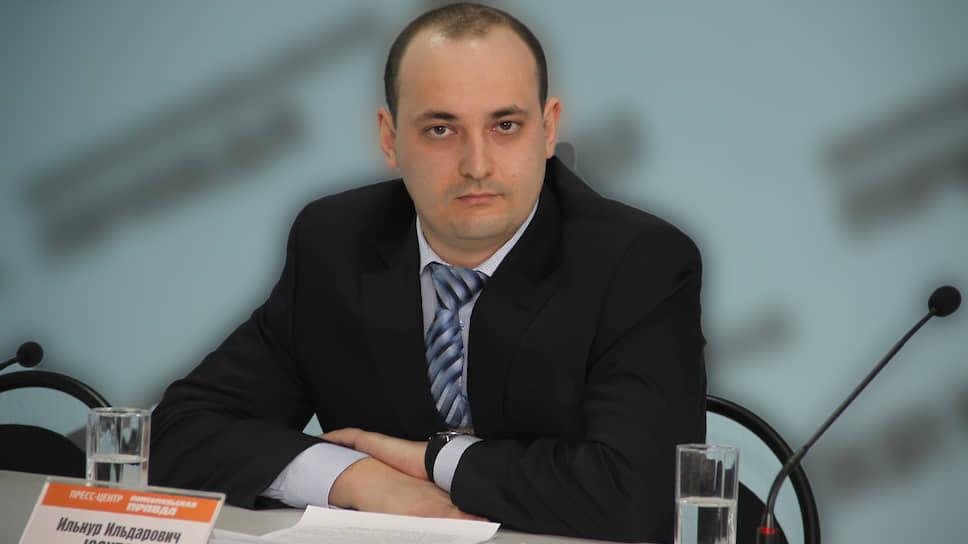 Бывший замначальника УЭБиПК МВД Башкирии Ильнур Юсупов