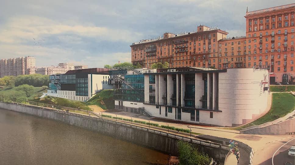 Проект строительства здания «репетиционной сцены» Мастерской Петра Фоменко