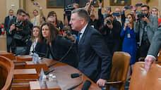 «В России это стоило бы мне жизни»  / На слушаниях в Конгрессе США выступили четыре свидетеля по «украинскому делу»
