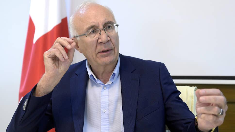 Специальный представитель премьер-министра Грузии по отношениям с Российской Федерацией Зураб Абашидзе