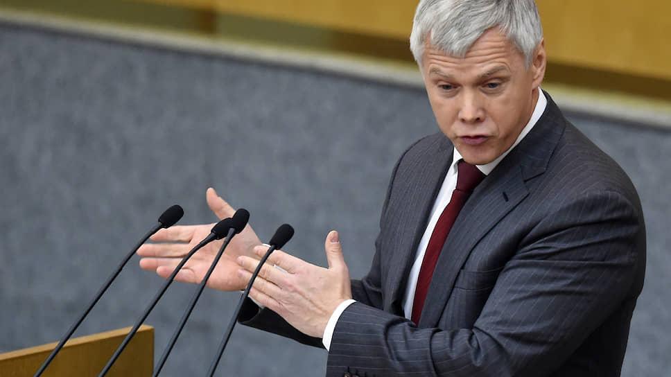 Депутат Валерий Гартунг