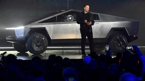 Tesla показала киберпикап