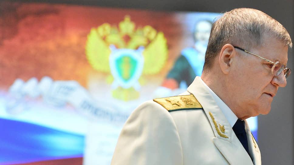 Генеральный прокурор России Юрий Чайка