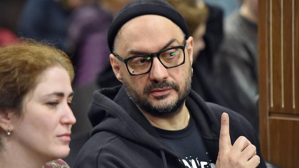Директор РАМТ Софья Апфельбаум и режиссер Кирилл Серебренников