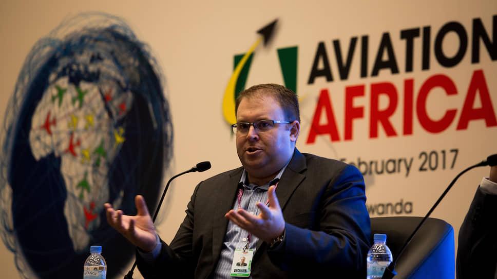 Официальный представитель швейцарской ассоциации Air Transport Action Group (ATAG) Халдейн Додд