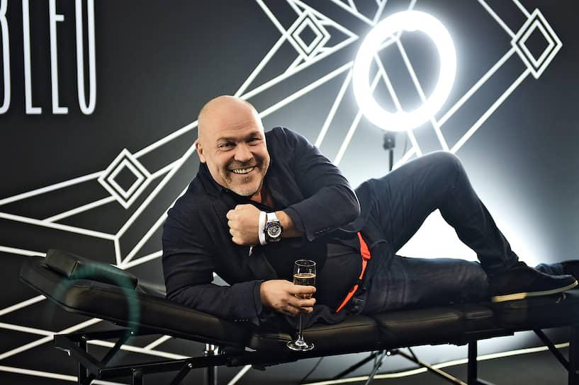Генеральный менеджер Mercury Александр Реебок во время коктейля часовой компании Hublot и компании Mercury по случаю презентации лимитированной серии часов в ЦУМе